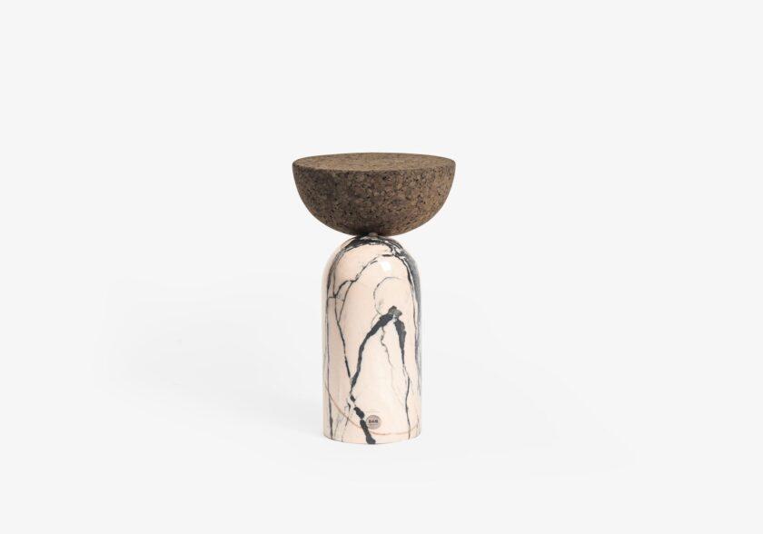 Small-table-Celeste-cork-DAM-perpective